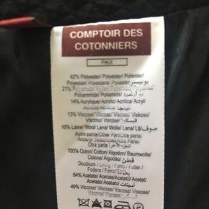 Comptoir Des Cotonniers Skirts - New Comptoir des Cotonniers burgundy skirt 40